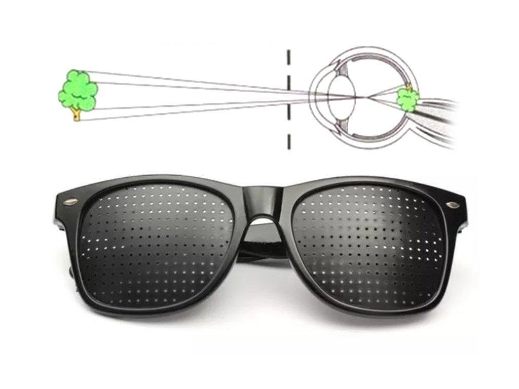 Správne vykresľovanie pozorovaného obrazu vďaka ayurveskym okuliarom EyeHealth
